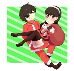 Happy Merry Christmas by pandicornio345