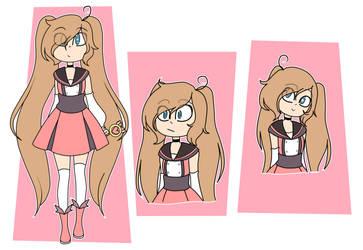 Magic Girl Monik (? by pandicornio345