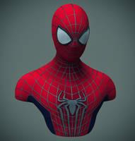 Amazing Spider-Man 2 Bust by hyzak