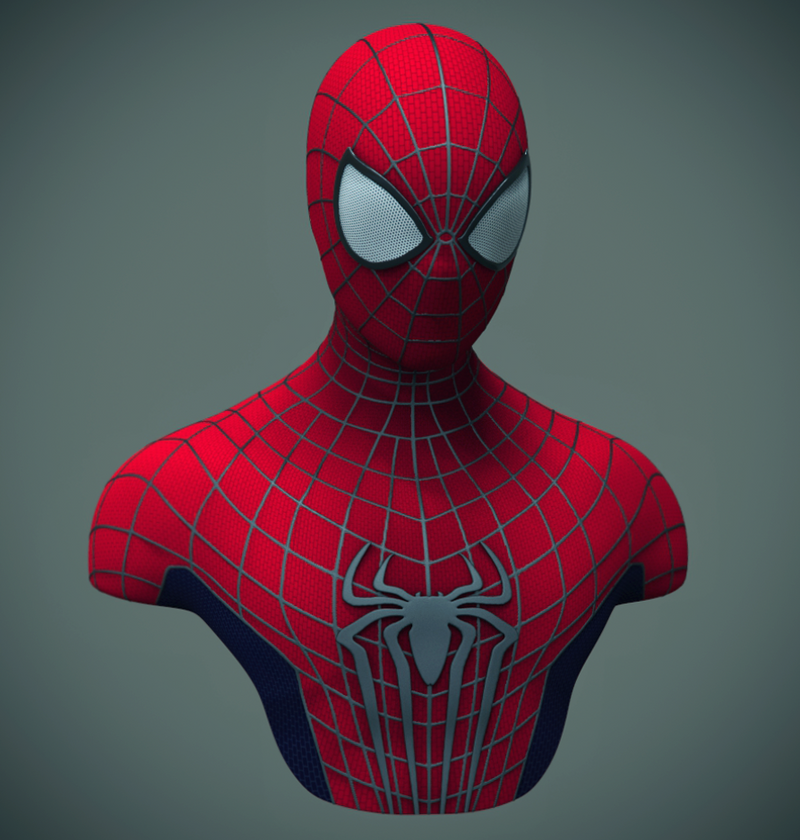 Amazing Spider-Man 2 Bust by hyzak