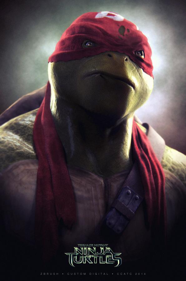 Raphael TMNT by hyzak