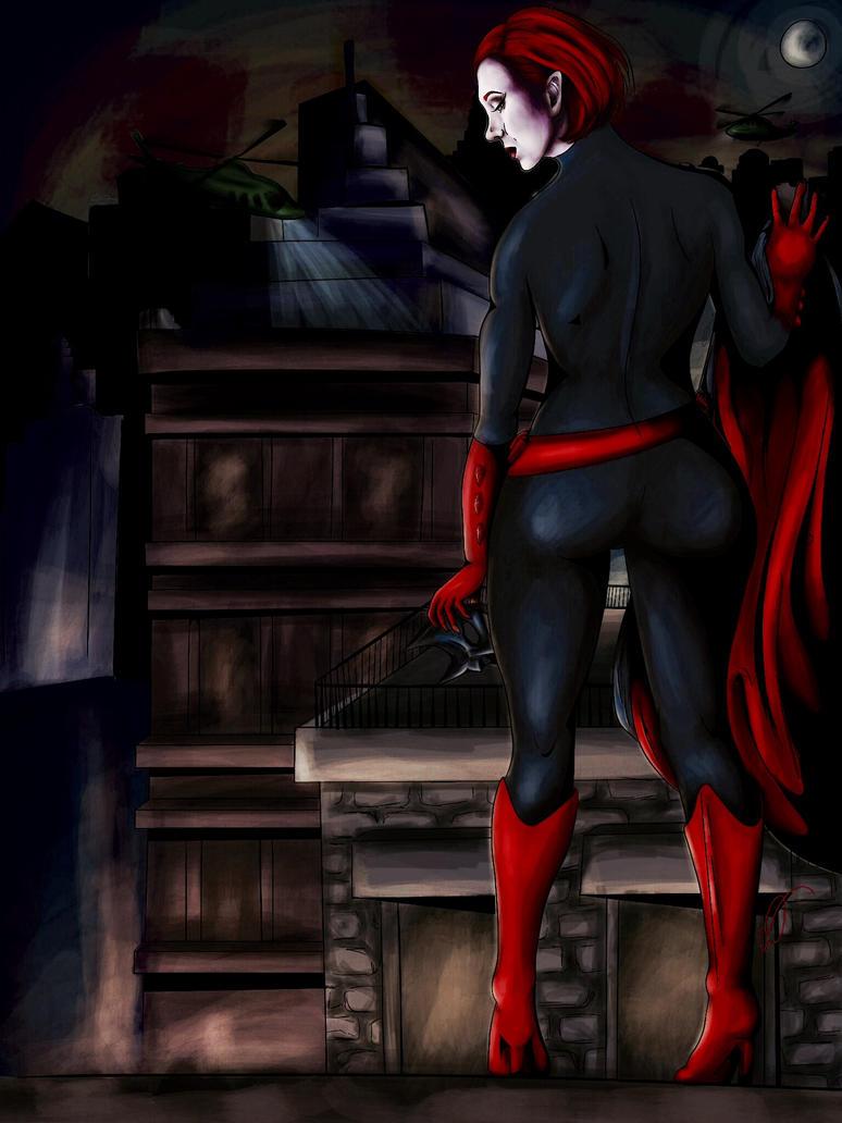 Batwoman (as Amanda Abbington) by SempreAmore