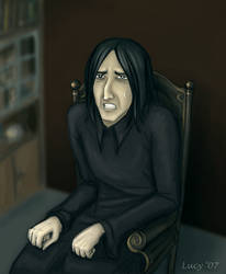 Snape's misery by Lucy--C