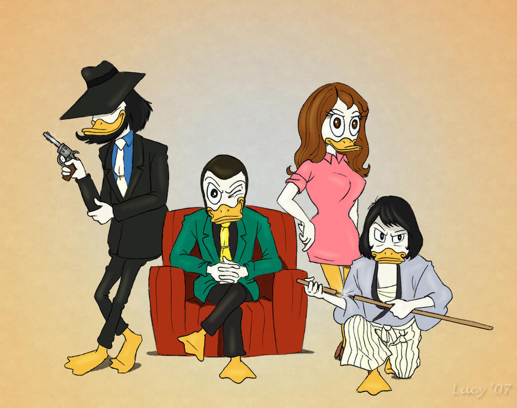 "Duck_ ""Lupin III"" by Loony-Lucy"