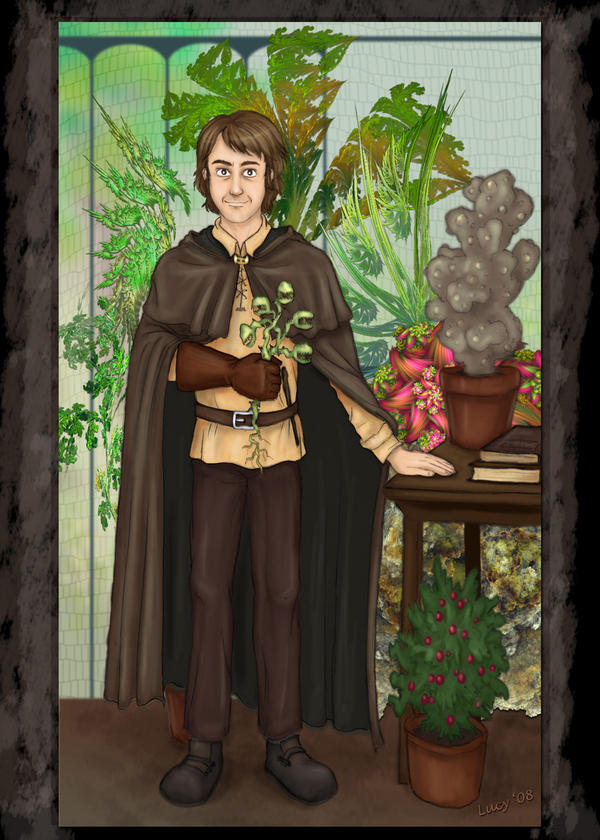 The New Herbology Teacher By Lucy C On Deviantart