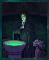 Regulus and Kreacher by Lucy--C