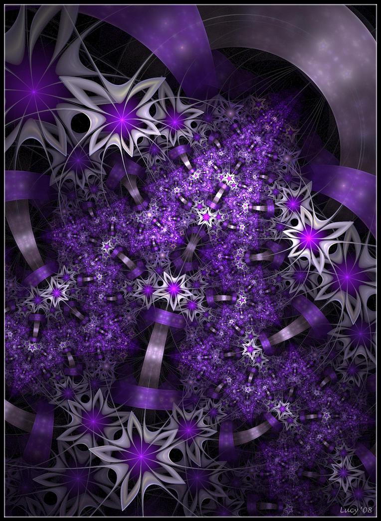 purple roads by Loony-Lucy