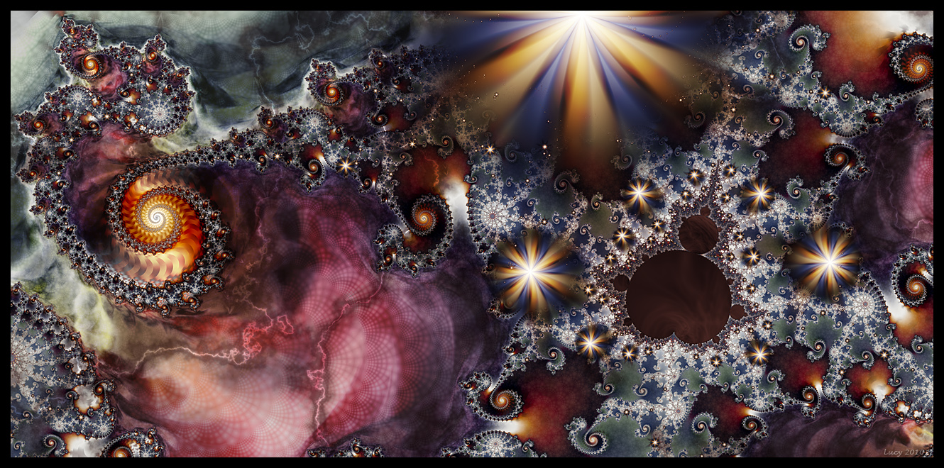 A Mandelbrot Universe by Loony-Lucy