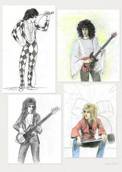 Queen - various drawings by Lucy--C