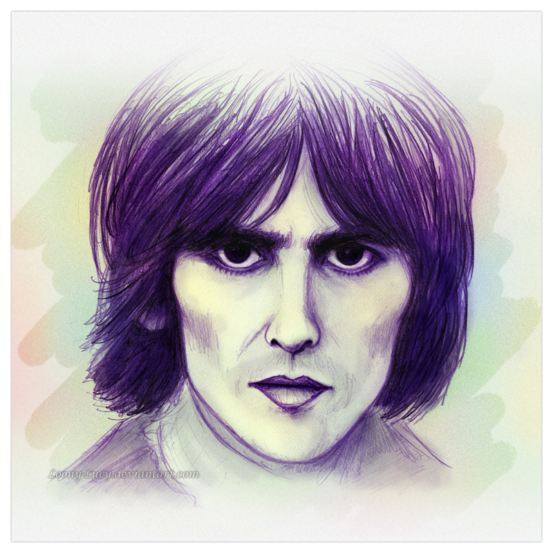George Harrison :) by Loony-Lucy