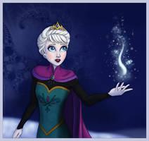 Frozen - Elsa by Lucy--C