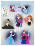 Frozen - random stuff