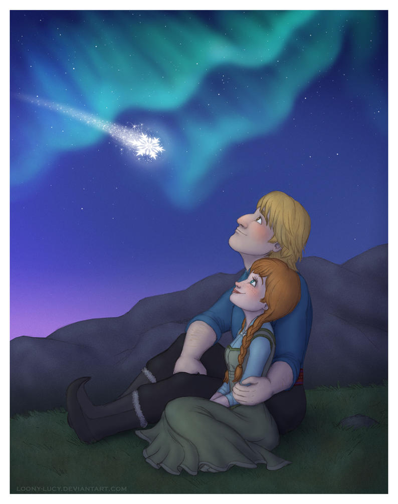 Frozen - Stargazing by Loony-Lucy