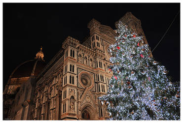Florence - Christmas - Duomo by Lucy--C