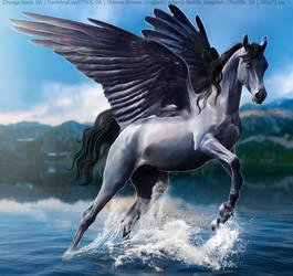 On Blue Wings HEE by Horserider09