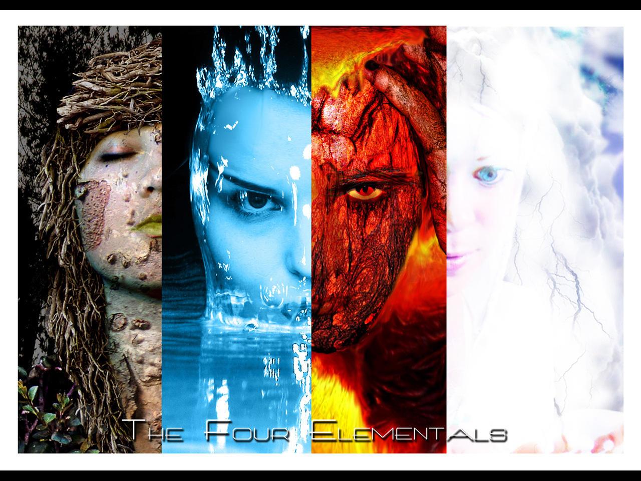 The Four Elementals by kimqueg