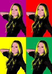 Avril Lavigne by ryohadipranata