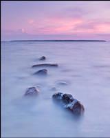 blue sunset by dnwvictor