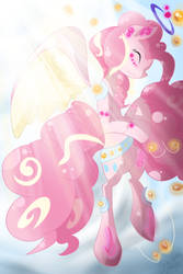 Graceful Pinkie by LlamasWithKatanas