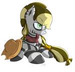 Zebra Applejack