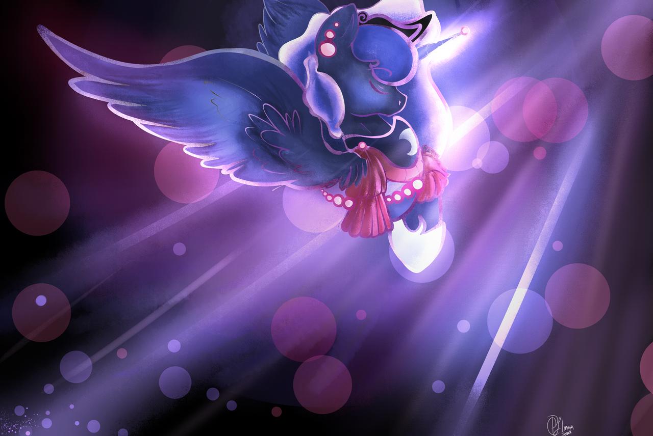 {QUICK DRAW} Luna by LlamasWithKatanas
