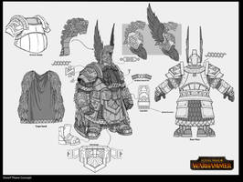 Dwarf Thane Concept by rineart