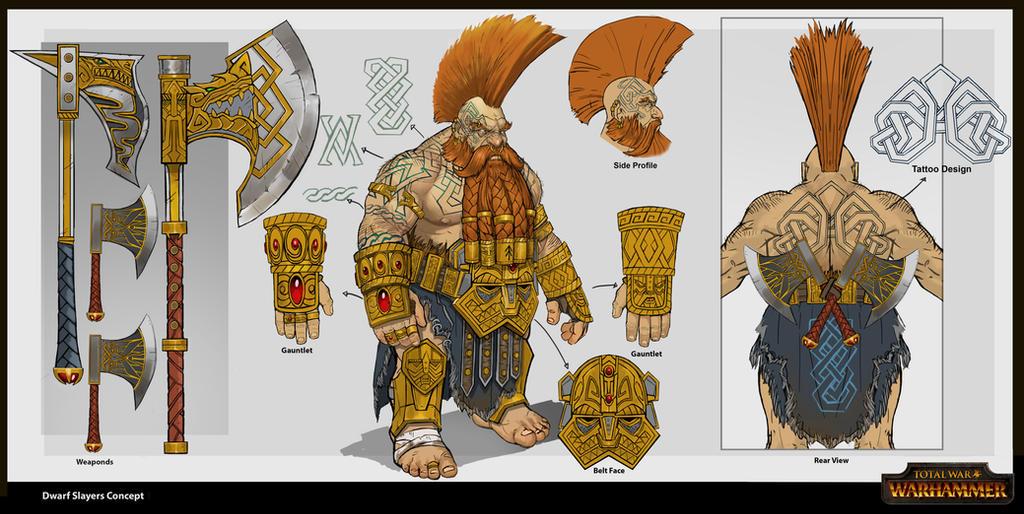 Dwarf Slayer by rineart
