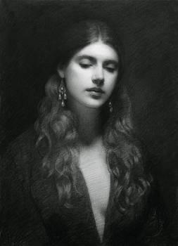 Lucretia charcoal