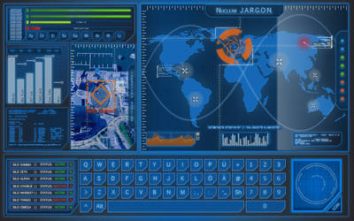 Nuclear Launch App FUI - Nuclear J.A.R.G.O.N.