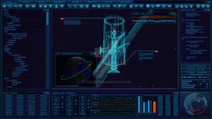 [WIP] Blue Satellite FUI