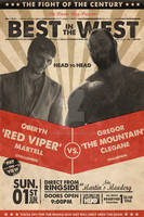The Besteros in Westeros Fight Poster