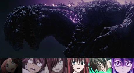 Heroes reaction to Shin Godzilla
