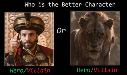 Who is the Better Remake Disney Villain of 2019? by artdog22