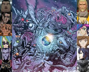 Godzilla: Ancient Times by artdog22