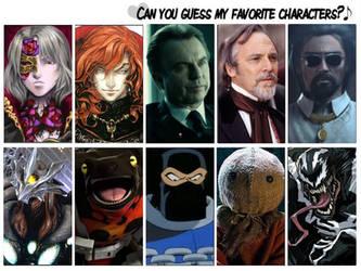 Guess my Favorite Villains by artdog22