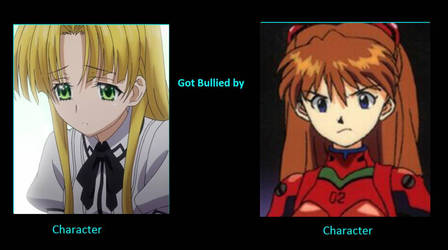 Asia gets Bullied by Asuka by artdog22