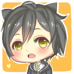 Chibi Icon comm (1): JaxHaley by katzevans