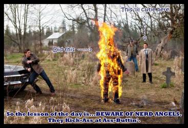 Beware of Nerd Angels. by almostdefinitely