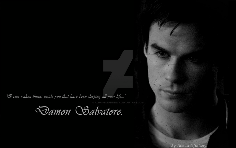 Damon Salvatore. by almostdefinitely