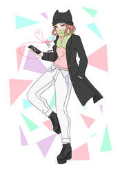 Anime Girl by GuadaChan