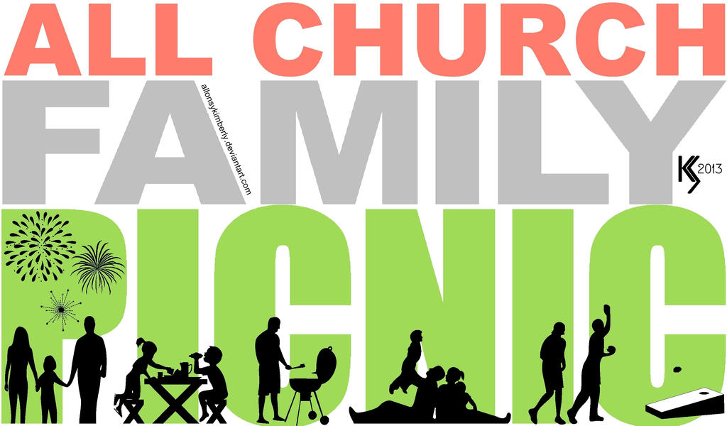 All Church Family Picnic Logo By Allonsykimberly On Deviantart