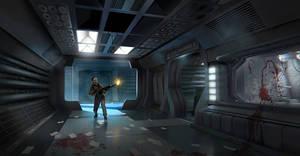 Alien Isolation background fanart