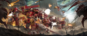 Blood Angels by SpaceMoule