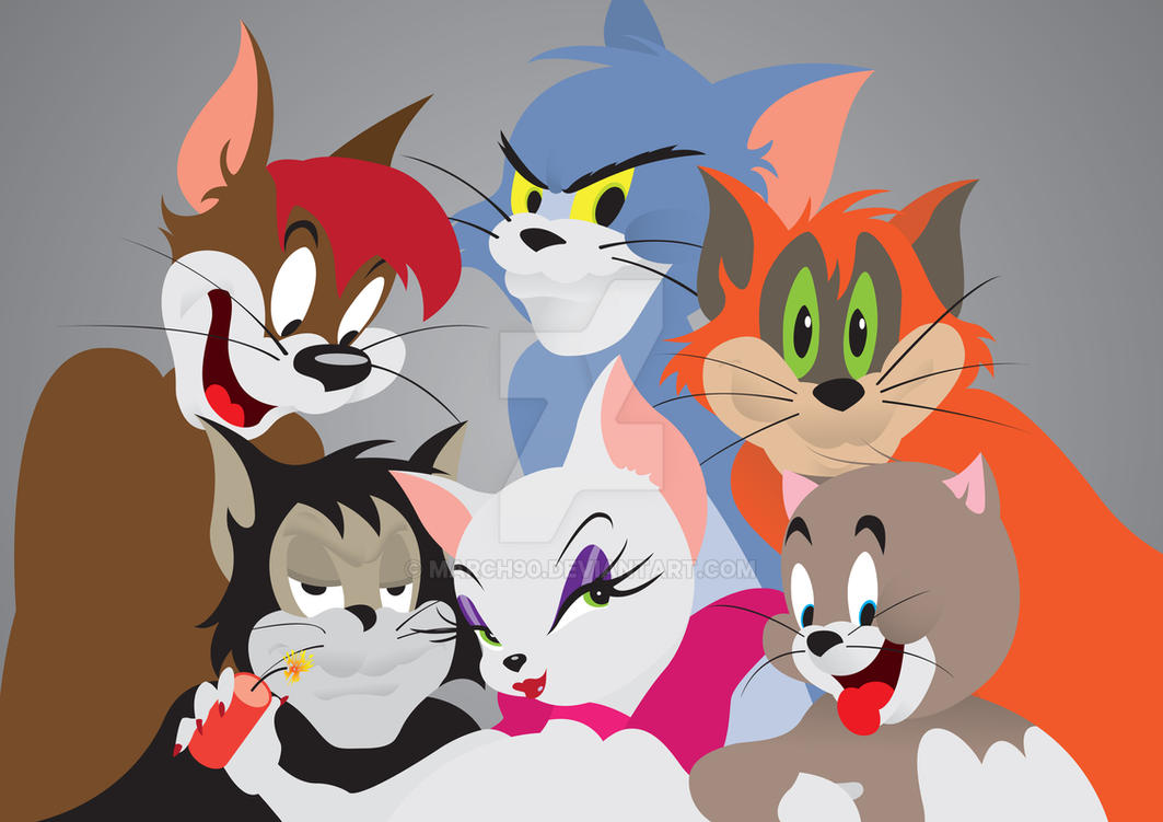 Felines Frenzy by March90