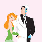 Two-Face and Poison Ivy by March90