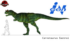The Lost World - Carnotaurus