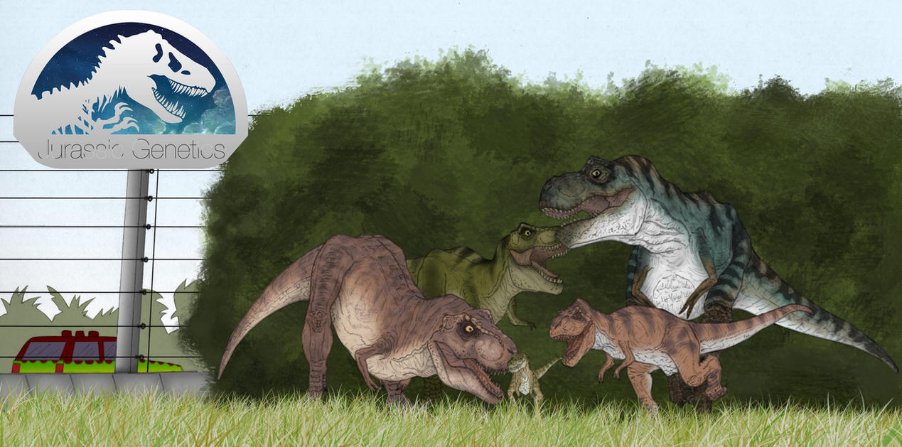 Jg t rex enclosure by march90 on deviantart for T rex family