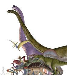 Jurassic Park Trilogy Animal Chart