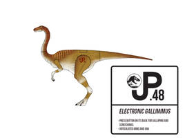 Jurassic Park Gallimimus Action Figure by March90