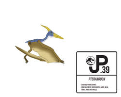 The Lost World Pteranodon Action Figure by March90